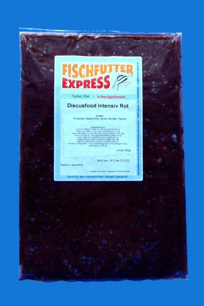 Diskusfood - intensiv rot 500g - Frostfutter-0
