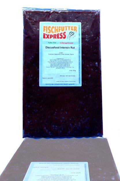Diskusfood - intensiv rot 500g - Frostfutter-840