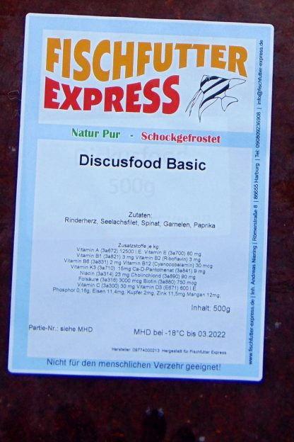 Diskusfood – 8 x 500g - Frostfutter-858