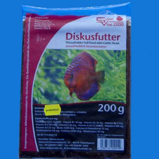 Diskusfutter - SV 2000 20x200g - Frostfutter-0