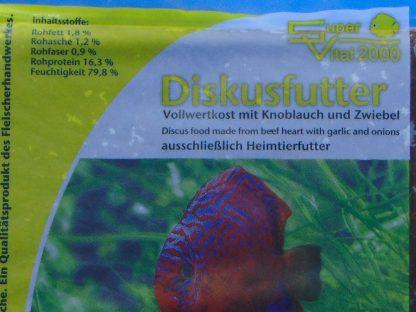 Diskusfutter - SV 2000 Knoblauch/Zwiebel 200g - Frostfutter-785