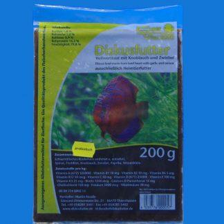 Diskusfutter - SV 2000 Knoblauch/Zwiebel 200g - Frostfutter-0