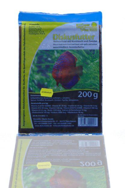 Diskusfutter - SV 2000 Knoblauch/Zwiebel 200g - Frostfutter-783