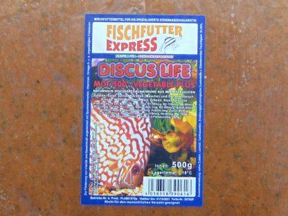 Diskusfutter - Life MGF 500 Vegetable Plus 8x500g - Frostfutter-753