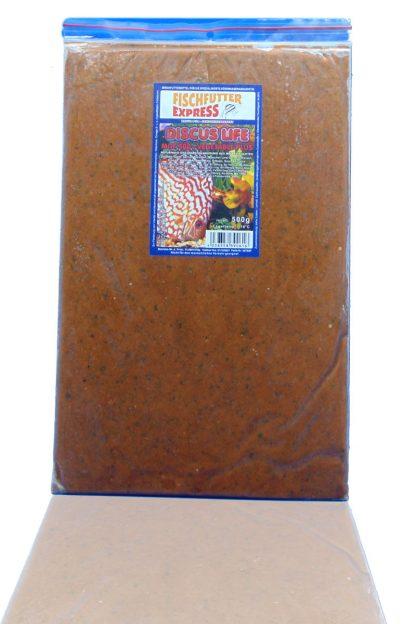 Diskusfutter - Life MGF 500 Vegetable Plus 8x500g - Frostfutter-751