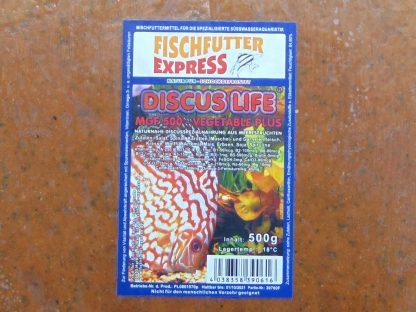 Discus - Life MGF 500 Vegetable Plus 500g - Frostfutter-738