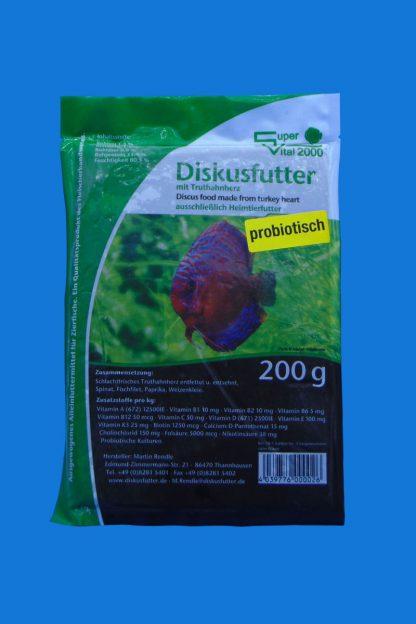 Diskusfutter - SV 2000 Truthahn 200g - Frostfutter-0