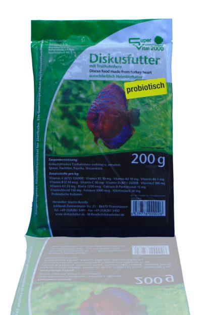 Diskusfutter - SV 2000 Truthahn 200g - Frostfutter-776