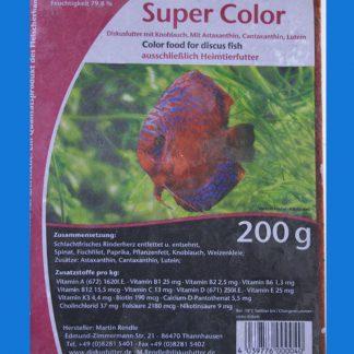 Diskusfutter - SV 2000 Super Color 20 x 200g - Frostfutter-0