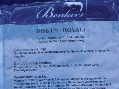 Diskusfutter - Benkers Diskus Royal 200g - Frostfutter-722