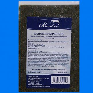 Diskusfutter - Benkers Garnelenmix grob 200g - Frostfutter-0