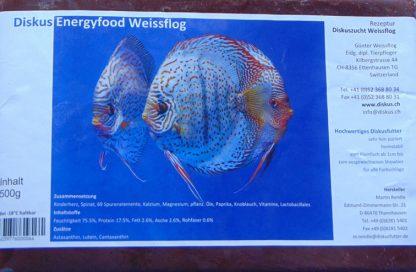 Fischfutter – 500g - Weissflog Energy - Frostfutter-832