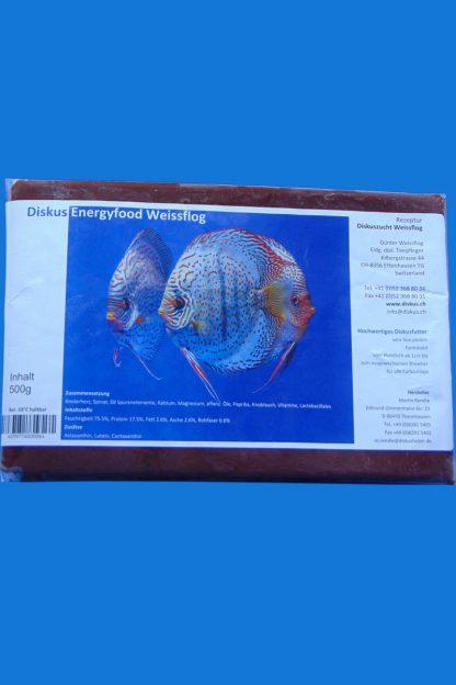 Fischfutter – 500g - Weissflog Energy - Frostfutter-0