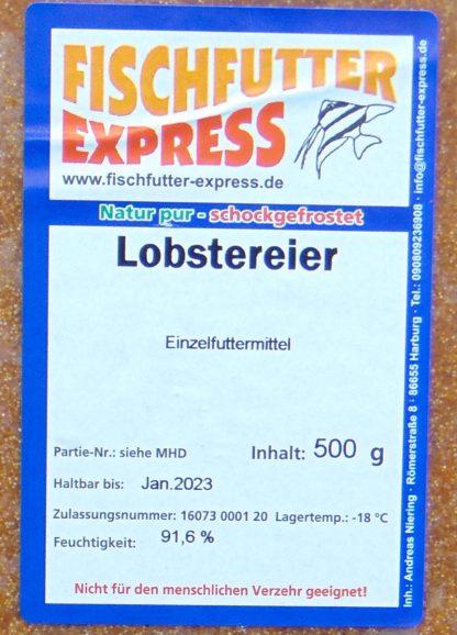 Lobstereier 8 x 500 g - Flachtafel-935