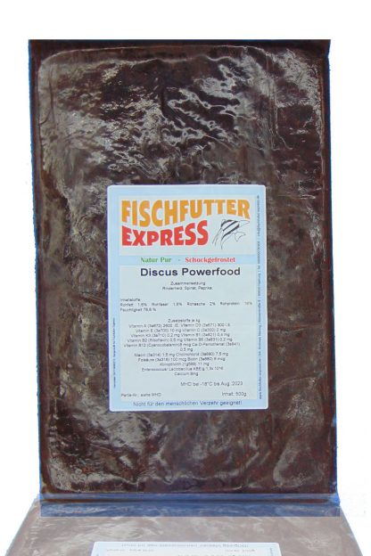 Discus Powerfood Frostfutter